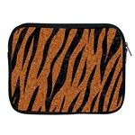 SKIN3 BLACK MARBLE & RUSTED METAL Apple iPad 2/3/4 Zipper Cases Front