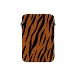 SKIN3 BLACK MARBLE & RUSTED METAL Apple iPad Mini Protective Soft Cases Front