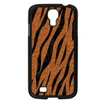 SKIN3 BLACK MARBLE & RUSTED METAL Samsung Galaxy S4 I9500/ I9505 Case (Black) Front