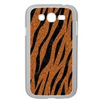 SKIN3 BLACK MARBLE & RUSTED METAL Samsung Galaxy Grand DUOS I9082 Case (White) Front
