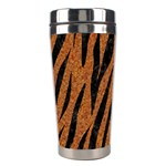 SKIN3 BLACK MARBLE & RUSTED METAL Stainless Steel Travel Tumblers Right