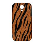 SKIN3 BLACK MARBLE & RUSTED METAL Samsung Galaxy S4 I9500/I9505  Hardshell Back Case Front