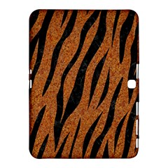Skin3 Black Marble & Rusted Metal Samsung Galaxy Tab 4 (10 1 ) Hardshell Case