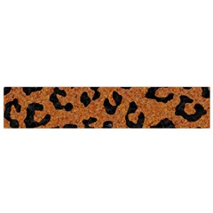Skin5 Black Marble & Rusted Metal (r) Flano Scarf (small)