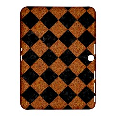 Square2 Black Marble & Rusted Metal Samsung Galaxy Tab 4 (10 1 ) Hardshell Case