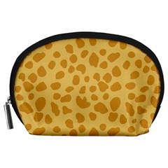 Autumn Animal Print 2 Accessory Pouches (large)