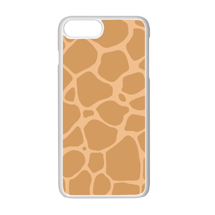 Autumn Animal Print 10 Apple iPhone 7 Plus White Seamless Case