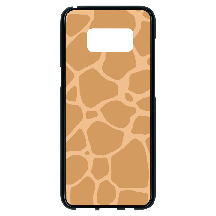 Autumn Animal Print 10 Samsung Galaxy S8 Black Seamless Case
