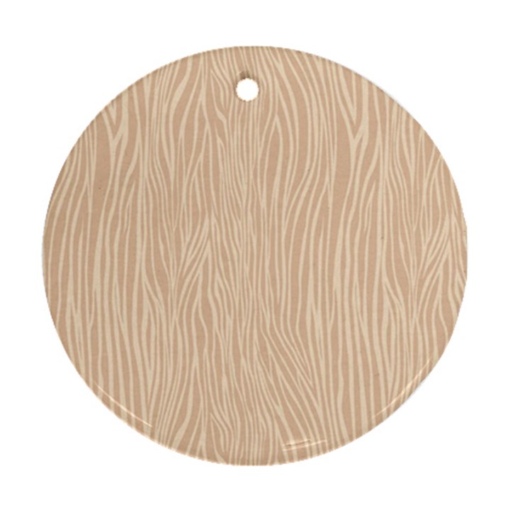 Autumn Animal Print 11 Ornament (Round)