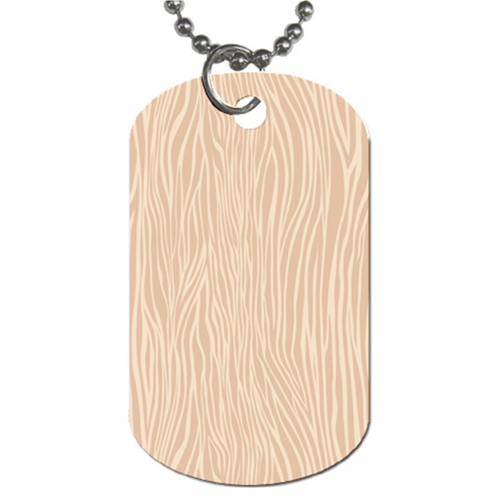 Autumn Animal Print 11 Dog Tag (One Side)