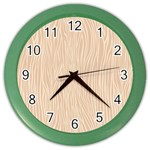Autumn Animal Print 11 Color Wall Clocks Front