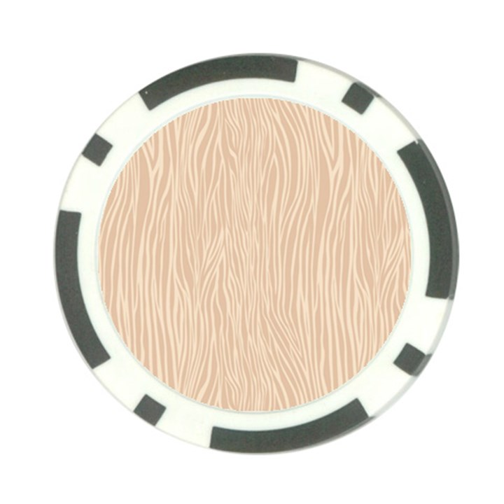 Autumn Animal Print 11 Poker Chip Card Guard