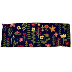 Cute Doodle Flowers 1 Body Pillow Case Dakimakura (two Sides)