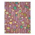 Cute Doodle Flowers 3 Shower Curtain 60  x 72  (Medium)  54.25 x65.71 Curtain