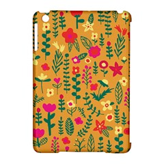 Cute Doodle Flowers 4 Apple Ipad Mini Hardshell Case (compatible With Smart Cover)