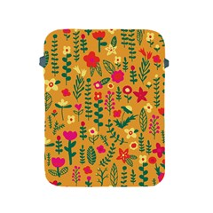 Cute Doodle Flowers 4 Apple Ipad 2/3/4 Protective Soft Cases