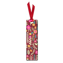 Cute Doodle Flowers 6 Small Book Marks