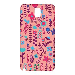 Cute Doodle Flowers 8 Samsung Galaxy Note 3 N9005 Hardshell Back Case