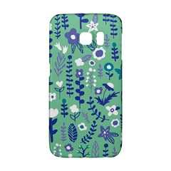 Cute Doodle Flowers 9 Galaxy S6 Edge
