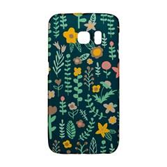 Cute Doodle Flowers 10 Galaxy S6 Edge