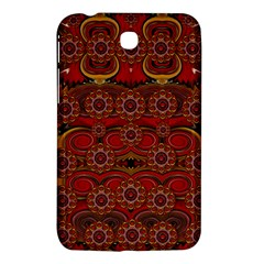 Pumkins  In  Gold And Candles Smiling Samsung Galaxy Tab 3 (7 ) P3200 Hardshell Case