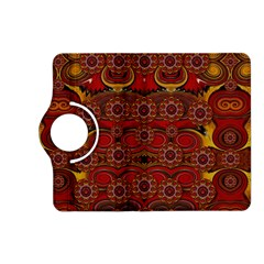 Pumkins  In  Gold And Candles Smiling Kindle Fire Hd (2013) Flip 360 Case