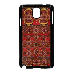 Pumkins  In  Gold And Candles Smiling Samsung Galaxy Note 3 Neo Hardshell Case (black)