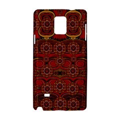 Pumkins  In  Gold And Candles Smiling Samsung Galaxy Note 4 Hardshell Case