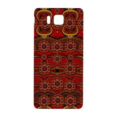 Pumkins  In  Gold And Candles Smiling Samsung Galaxy Alpha Hardshell Back Case