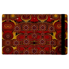 Pumkins  In  Gold And Candles Smiling Apple Ipad Pro 12 9   Flip Case