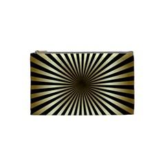 Art Deco Goldblack Cosmetic Bag (small)