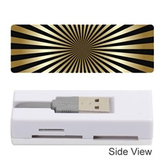 Art Deco Goldblack Memory Card Reader (stick)