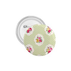 Green Shabby Chic 1 75  Buttons