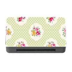 Green Shabby Chic Memory Card Reader With Cf
