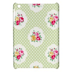 Green Shabby Chic Apple Ipad Mini Hardshell Case