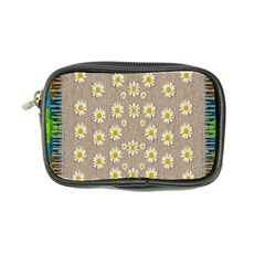 Star Fall Of Fantasy Flowers On Pearl Lace Coin Purse