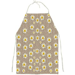 Star Fall Of Fantasy Flowers On Pearl Lace Full Print Aprons