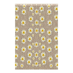 Star Fall Of Fantasy Flowers On Pearl Lace Shower Curtain 48  X 72  (small)