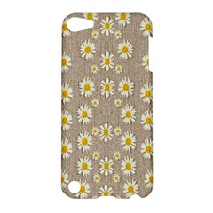 Star Fall Of Fantasy Flowers On Pearl Lace Apple Ipod Touch 5 Hardshell Case