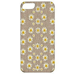 Star Fall Of Fantasy Flowers On Pearl Lace Apple Iphone 5 Classic Hardshell Case