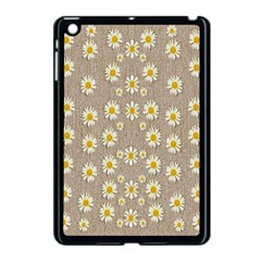 Star Fall Of Fantasy Flowers On Pearl Lace Apple Ipad Mini Case (black)