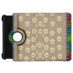 Star Fall Of Fantasy Flowers On Pearl Lace Kindle Fire Hd 7