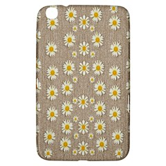Star Fall Of Fantasy Flowers On Pearl Lace Samsung Galaxy Tab 3 (8 ) T3100 Hardshell Case