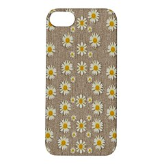 Star Fall Of Fantasy Flowers On Pearl Lace Apple Iphone 5s/ Se Hardshell Case