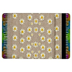Star Fall Of Fantasy Flowers On Pearl Lace Ipad Air Flip