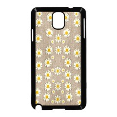 Star Fall Of Fantasy Flowers On Pearl Lace Samsung Galaxy Note 3 Neo Hardshell Case (black)