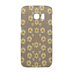 Star Fall Of Fantasy Flowers On Pearl Lace Galaxy S6 Edge
