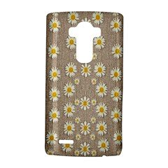 Star Fall Of Fantasy Flowers On Pearl Lace Lg G4 Hardshell Case