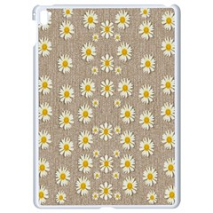 Star Fall Of Fantasy Flowers On Pearl Lace Apple Ipad Pro 9 7   White Seamless Case