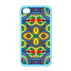 L ooera In Lyrical Abstraction Apple Iphone 4 Case (color)